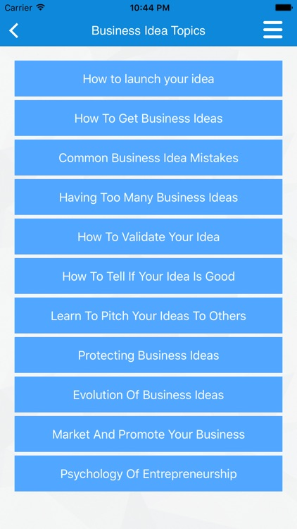 Small Business & Startup Ideas