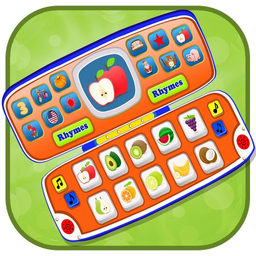 Toy Phone For Toddlers - Toy Laptop Preschool All In One iOS App