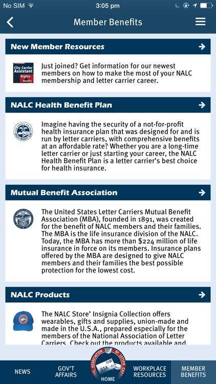 NALC Member App screenshot-4