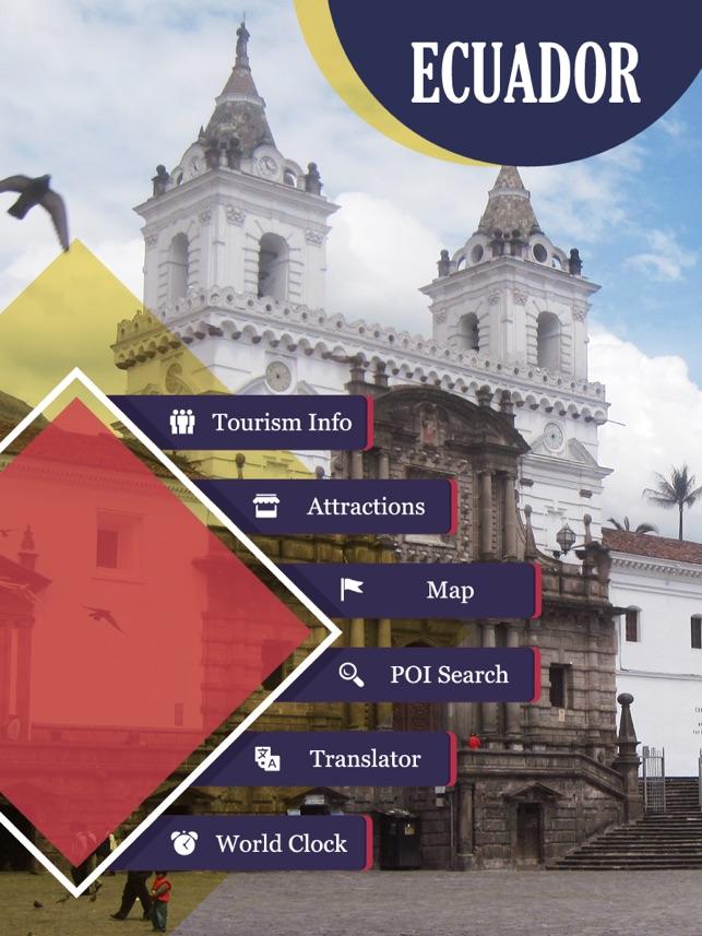 Ecuador Tourist Guide on the App