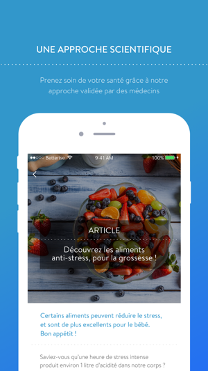 App Store Betterise Le Majordome De Votre Santé