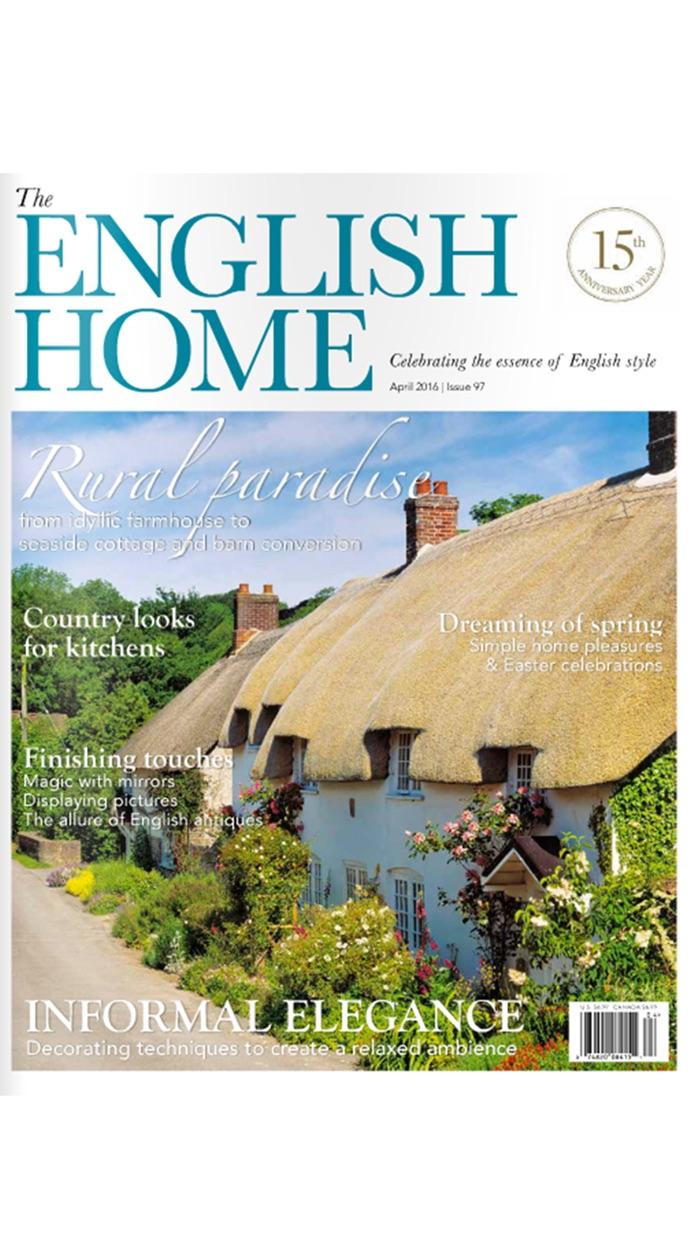 The English Home Magazine Screenshot