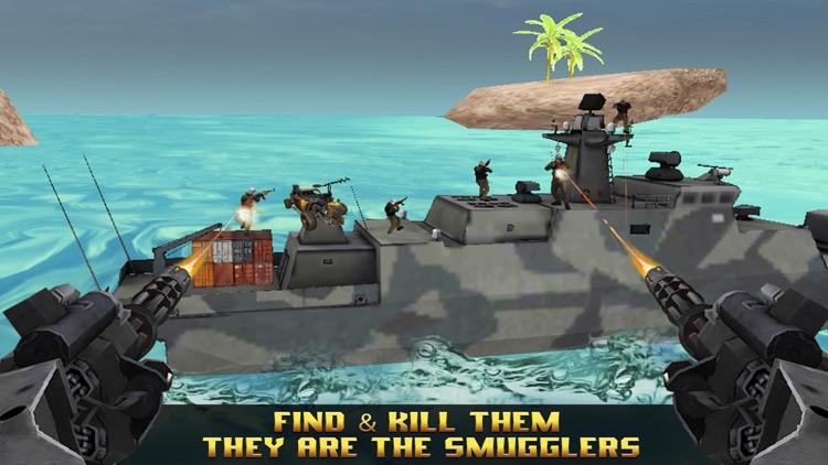 Pirates Chase : kill or Capture the sea smugglers screenshot-3