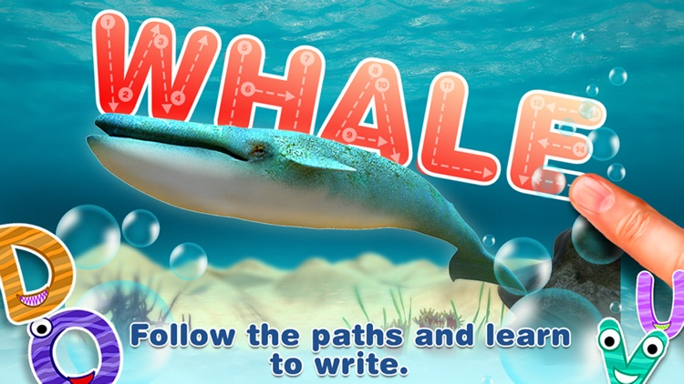 Alphabet in Sea World for Kids - Pro screenshot-3