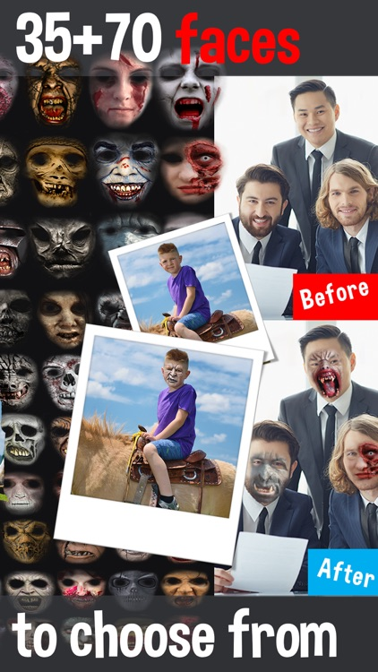 Zombie Face Maker - Turn Your Pic Into a Scary and Ugly Creature Photo Booth