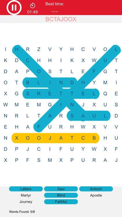 Word Swirl - Word Search Fun