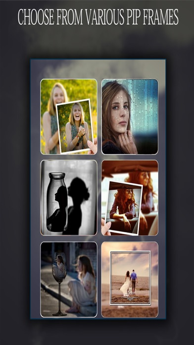 Pip Photo Editors # Best Picture in Picture Effects With layover screenshot three