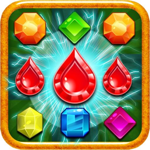 Jewel Match 3 Deluxe iOS App
