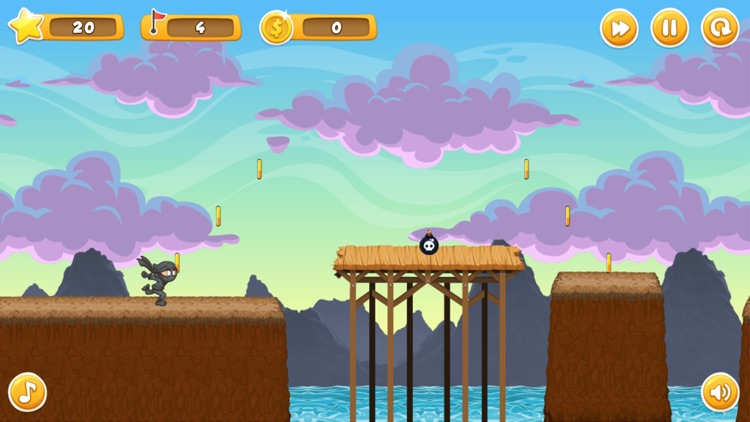 Ninja Kid Run and Jump - Top Running Fun Game