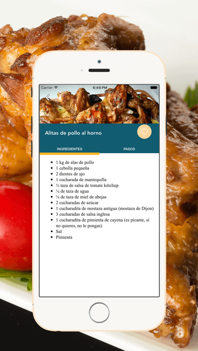 Recetas de Pollo screenshot three