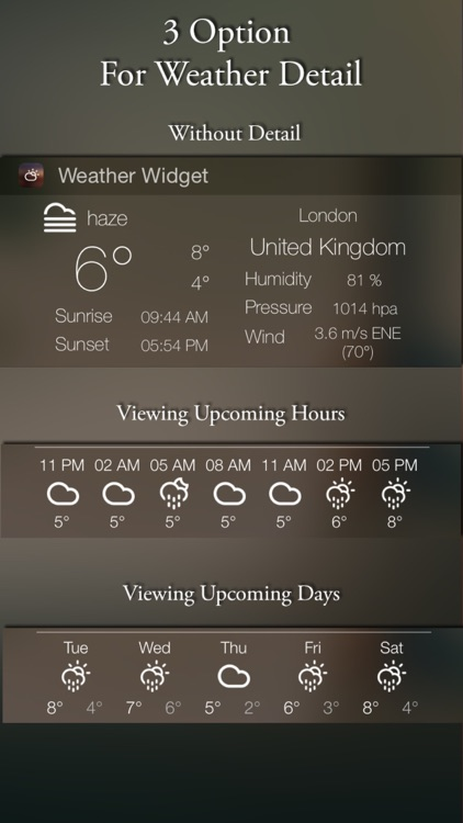 Weather Widget+ screenshot-3