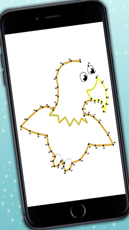 Play and Color Animals game for kids - Connect dots and paint the drawings screenshot-3