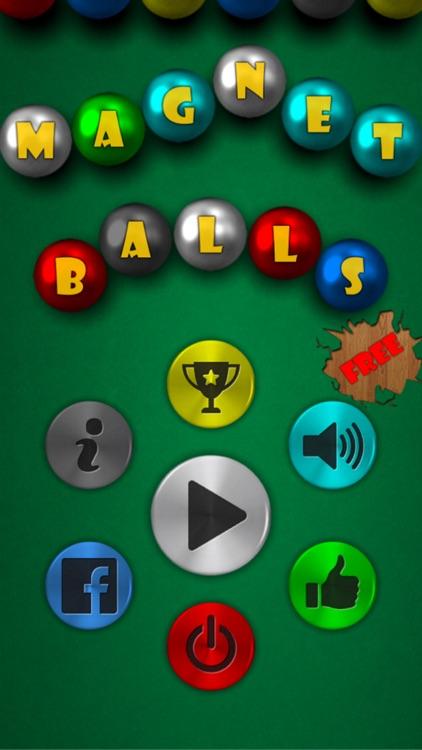 Magnet Balls Free screenshot-4
