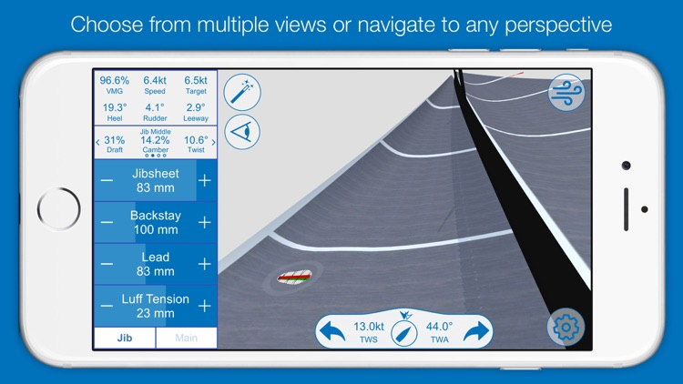 North U Sailing Trim Simulator - Virtual, Sailor, Wind, Navigation, Regatta screenshot-3