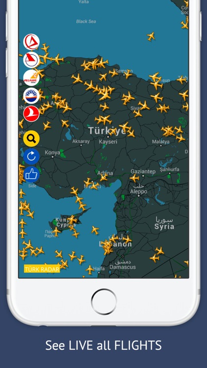 TR Tracker Free : Live Flight Tracking & Status screenshot-0