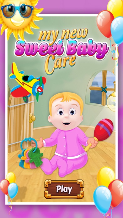 My New Sweet Little Baby Care screenshot one