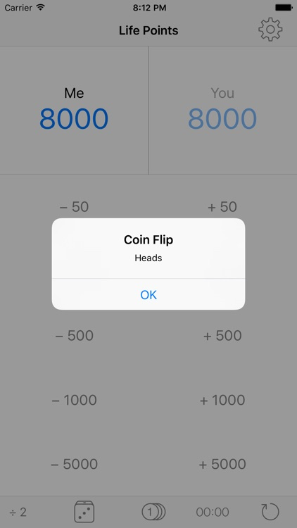 YugiCalc: Life Point Calculator screenshot-3