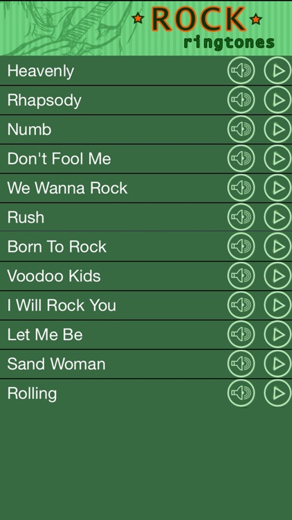 Rock Ringtones For iPhone Free Tones and Sounds