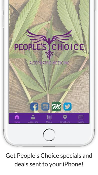People's Choice Alternative Medicine screenshot one