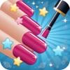ネイルサロンの美しい - 女の子の化粧ゲームと変身ドレス爪アート ・ マニキュア