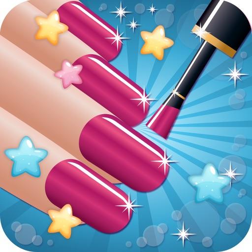 Nail Salon Beautiful - girls makeup makeover and games dressup nails art & nail polish iOS App
