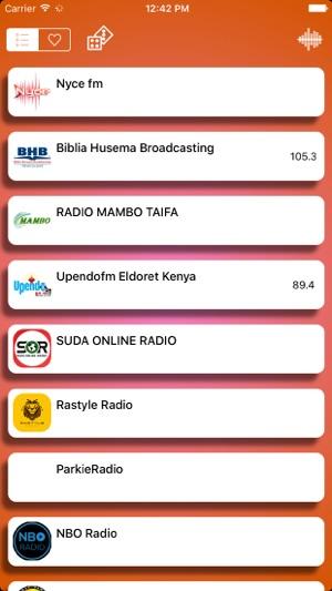 Kenya Radio Live Free On The App Store