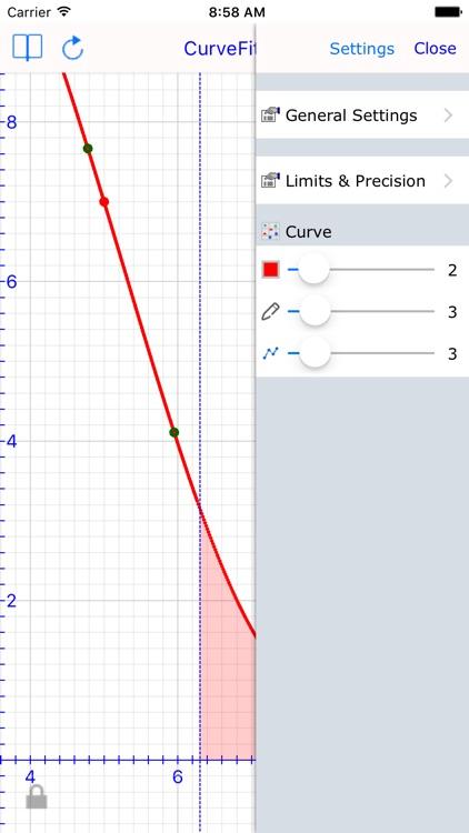 Curve Fit Graph Calc Lite screenshot-3