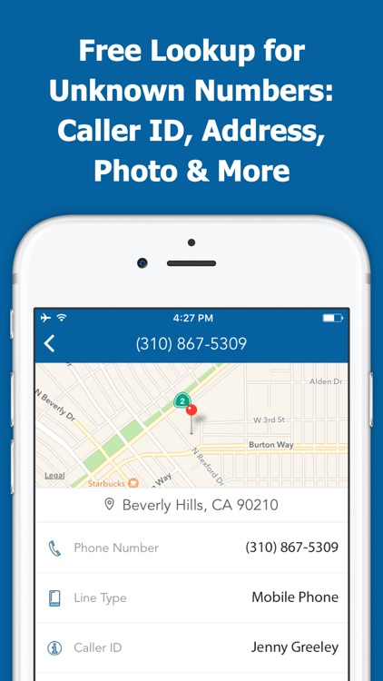 reverse phone number lookup free white pages app