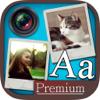 Escribir en fotos editar fotos con texto - Premium