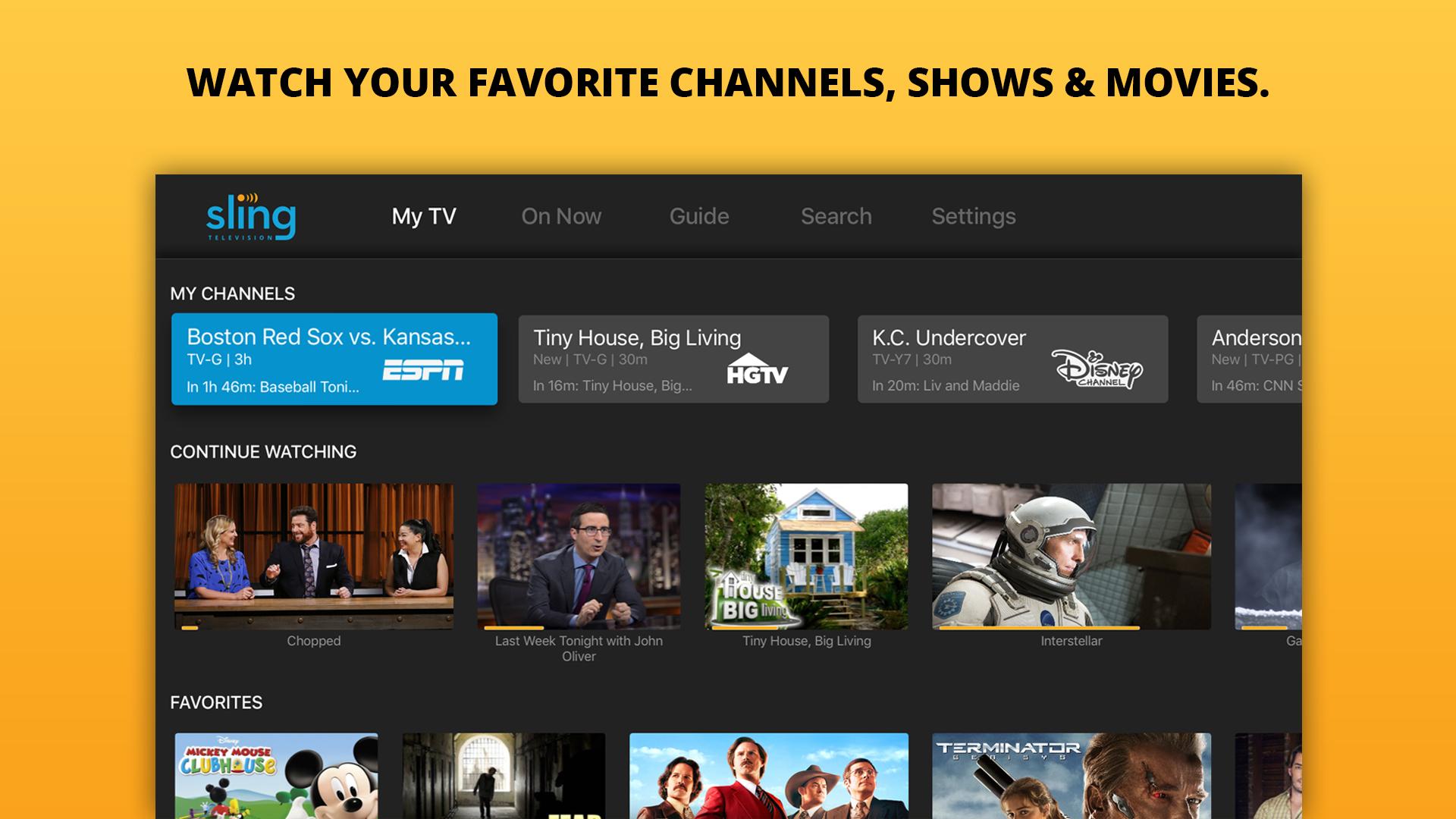Sling TV: Stream Live TV now screenshot 9