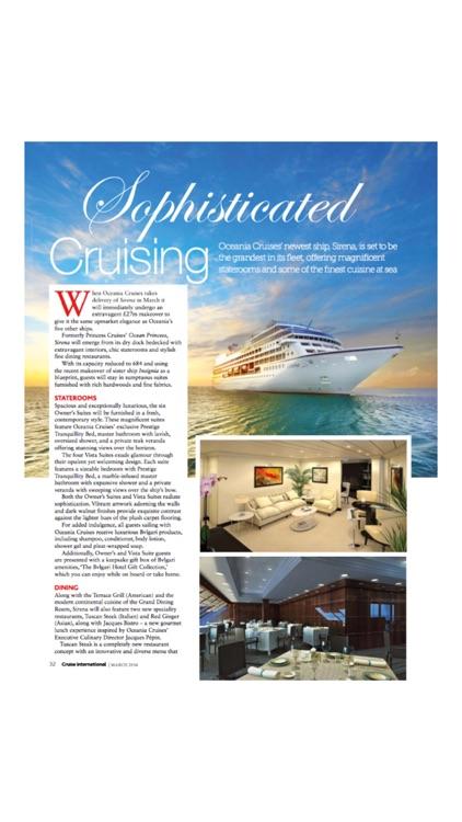 Cruise International Magazine screenshot-3