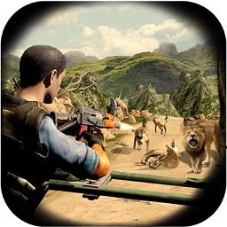 Wild Animal Hunting-Sniper Assassin Jungle Hunter 3d