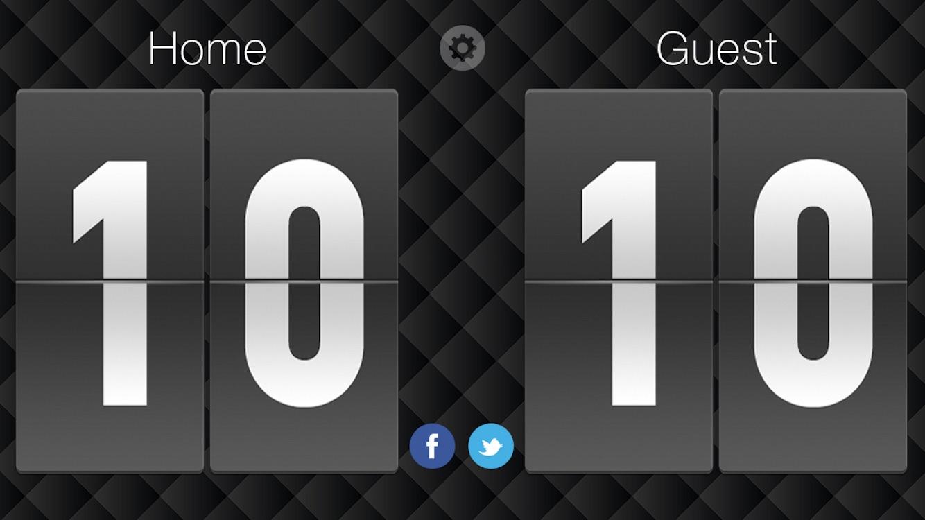 Scoreboard - Free Score Keeping on the Go Screenshot