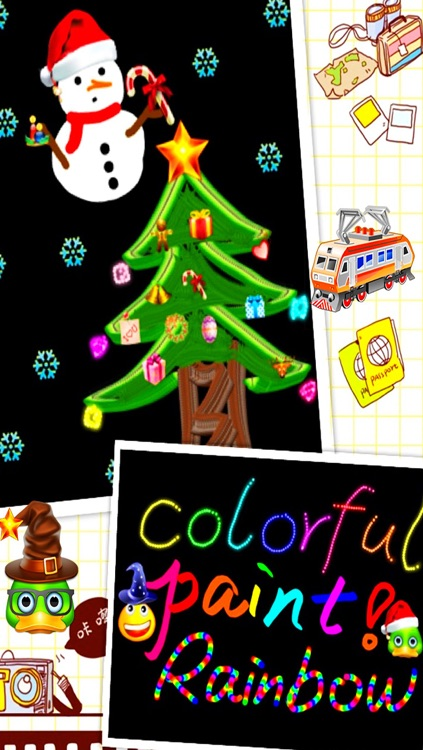 Doodle Style - Magical sticker brush for Kids screenshot-3