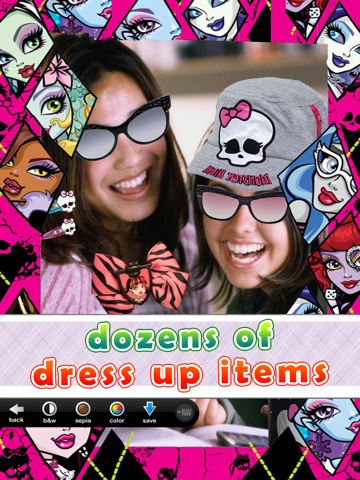 Monster Ghoul Photo Booth: Dress up, Photo Frames & Selfie Editor