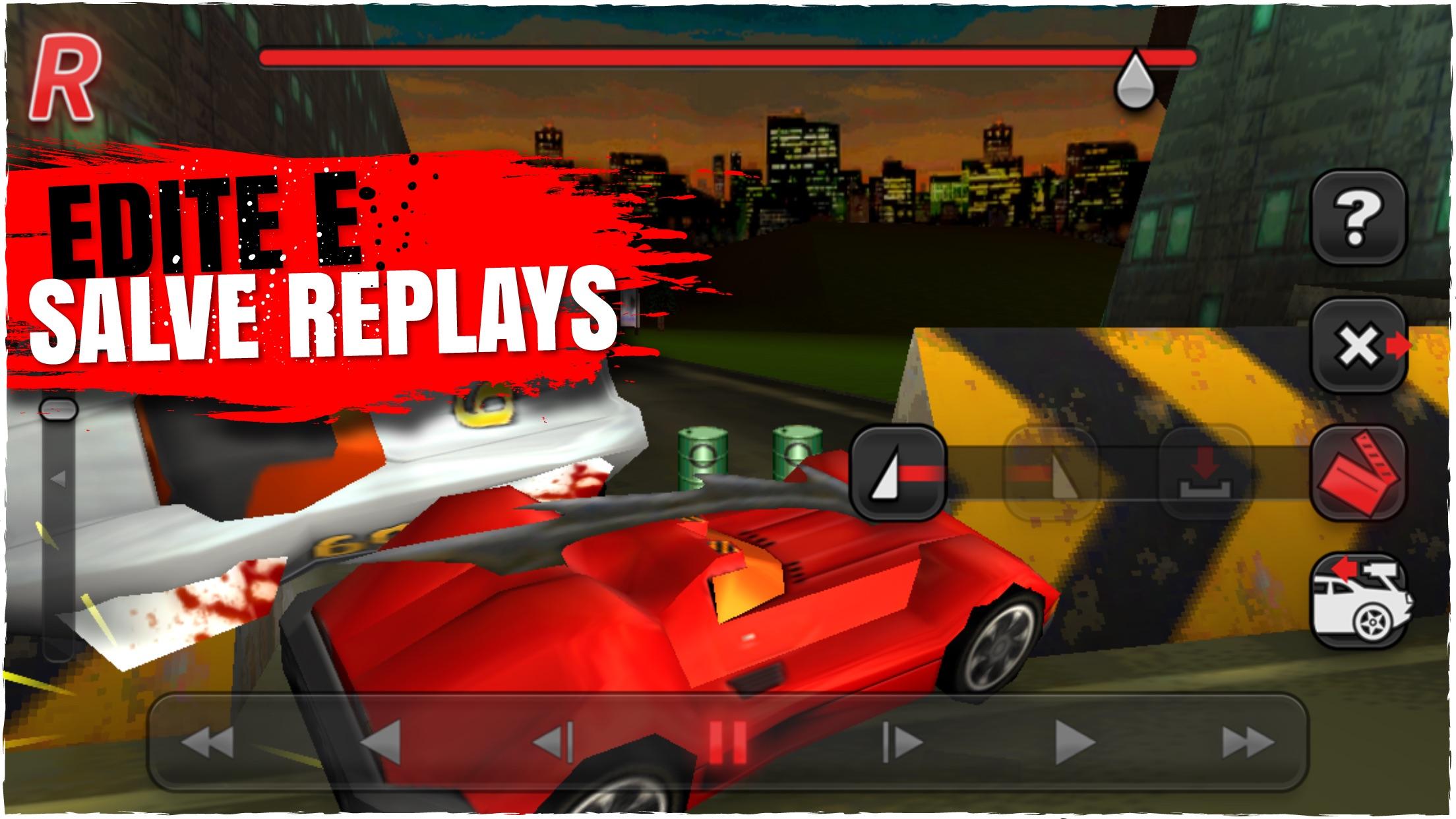 Screenshot do app Carmageddon