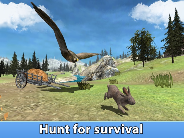 Wildfalke-Überlebens-Simulator 3D Full Screenshot
