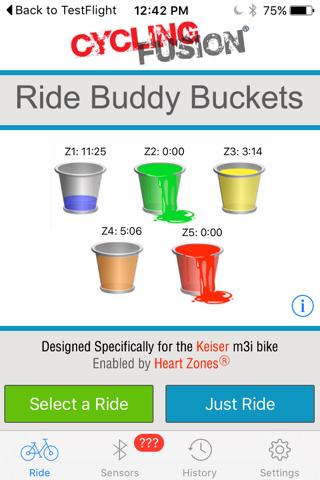 Ride Buddy Buckets - náhled