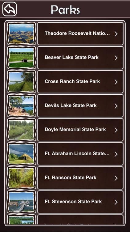 North Dakota State & National Parks