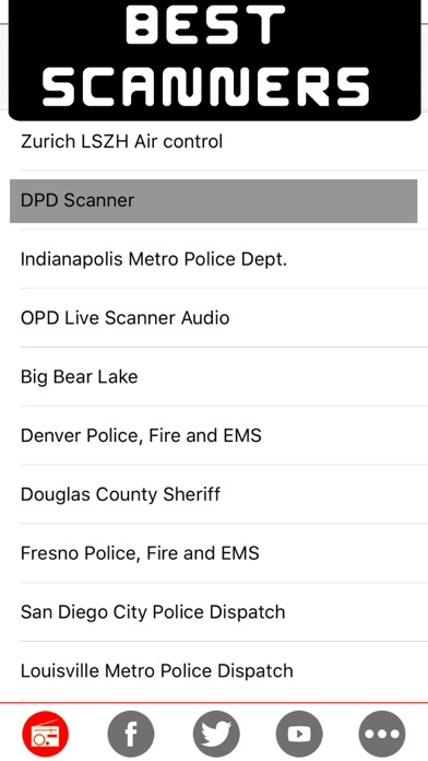Police radio scanners - The best radio police , Air traffic , fire & weather scanner on line radio stations Screenshot 1