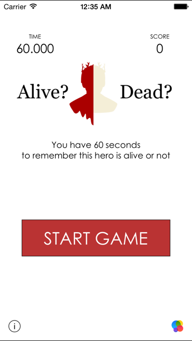 Alive? Dead? screenshot one