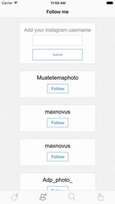 Screenshot for Tagstagram in Lebanon App Store