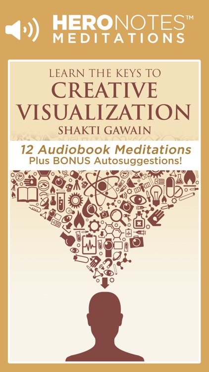 Creative Visualization Meditations by Shakti Gawain screenshot-0