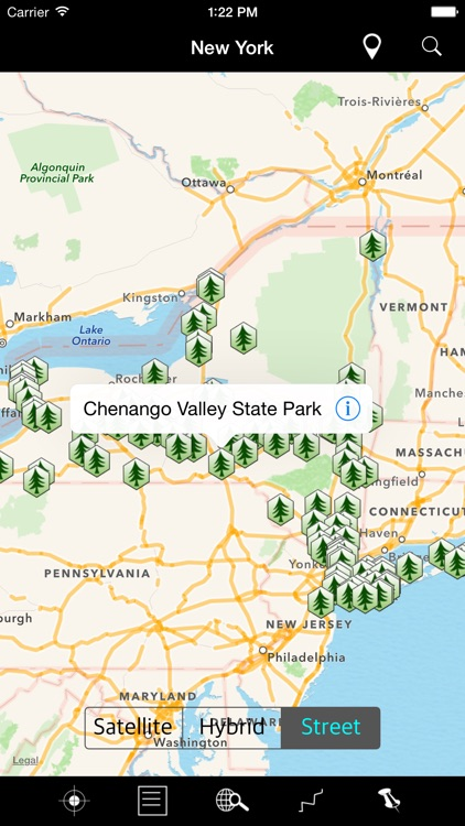 New York State Parks & Recreation Areas