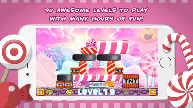 Cotton candy monster screenshot-3