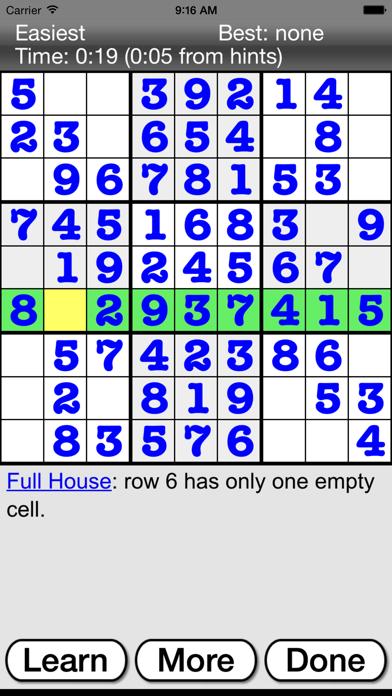 :) Sudoku + screenshot three
