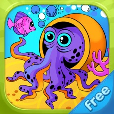 Activities of Sea Creatures - Living Coloring Free
