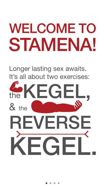 Stamena - Longer lasting sex kegel trainer for men