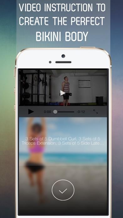 30 Day Bikini Body Workout Challenge for Full Body Tone Screenshot 3