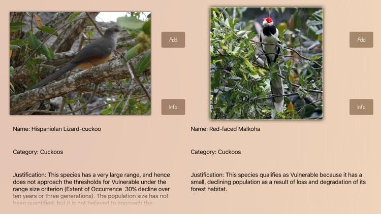 Cuckoos Database